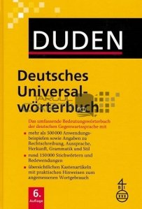 Duden / Dictionarul universal al limbii germane
