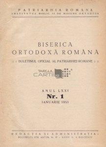 Buletinul oficial al patriarhiei romane 1953