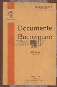 Documente bucovinene