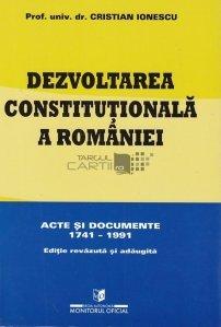 Dezvoltarea constitutionala a Romaniei