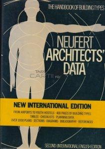 Architect's data / Cartea arhitectului;manualul tipurilor de constructii