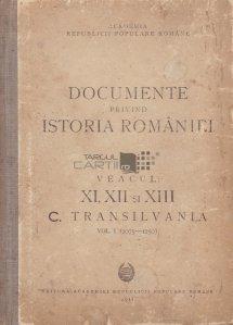 Documente privind istoria Romaniei volumul 1 Transilvania