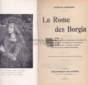 La Rome des Borgia / Roma in timpul familiei Borgia