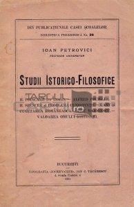 Studii istorico-filosofice