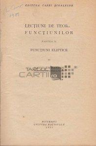 Lectiuni de teoria functiunilor