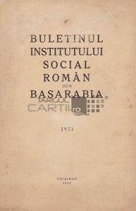 Buletinul institutului social roman din Basarabia