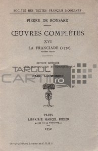 Oeuvres completes / Opere complete; Franciada