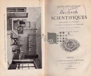 Causeries scientifiques / Discuții științifice