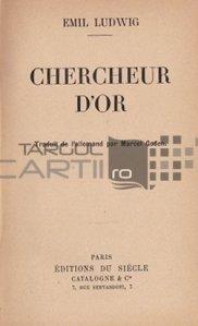 Chercheur d'or / Cautatorul de aur