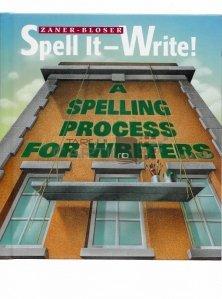 Spell it write! / Scrie!