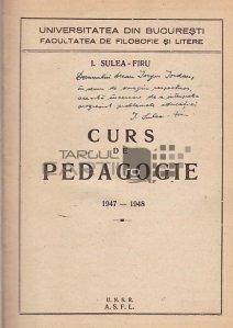 Curs de pedagogie