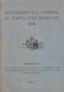 Recensamantul general al populatiei Romaniei