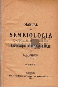 Manual de semeiologia si exploratia aparatului urinar