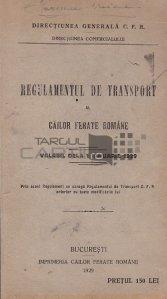 Regulamentul de transport al Cailor Ferate Romane