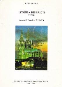 Istoria bisericii