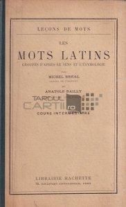Les mots latins / Cuvinte latine