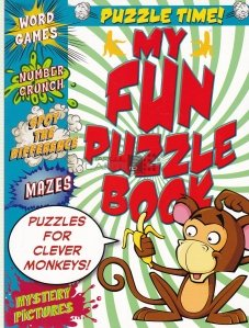 My Fun Puzzle Book