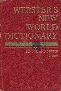 Webster's New World Dictionary / Noul dictionar general al lui Webster