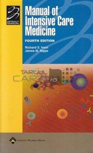Manual of Intensive Care Medicine / Manual de Ingrijire Medicala Intensiva