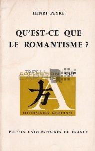 Qu'est-ce que le romantisme? / Ce este romantismul?