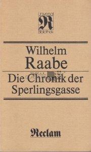 Die Chronik der Sperlingsgasse / Cronica lui Sperlingsgasse