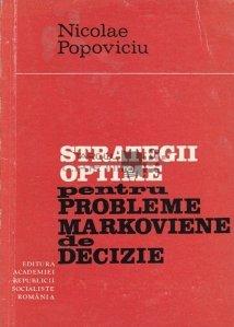 Strategii optime pentru probleme markoviene de decizie