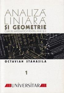 Analiza liniara si geometrie