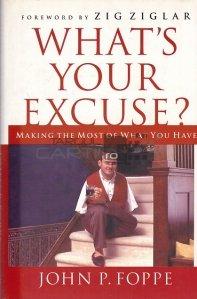 What's your excuse? / Care este scuza ta?