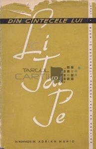 Din cintecele lui Li-Tai-Pe