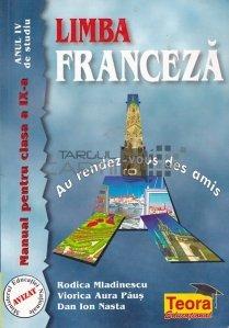 Limba franceza: manual pentru clasa a IX-a, anul IV de studiu