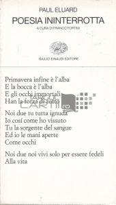 Poesia Ininterrotta / Continuitatea poeziei