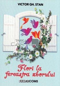 Flori la fereastra zborului