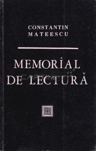 Memorial de lectura