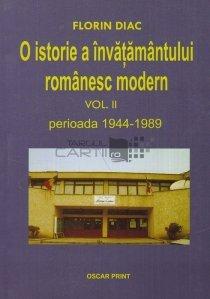 O istorie a invatamantului romanesc modern