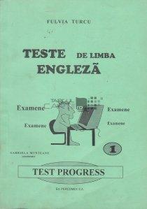 Teste de limba engleza