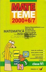 Matematica: clasa a VI-a