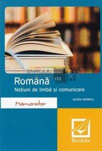 Romana. Notiuni de limba si comunicare