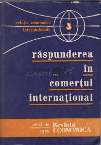 Raspunderea in comertul international