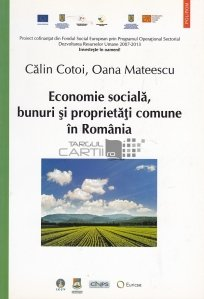 Economie sociala, bunuri si proprietati comune in Romania