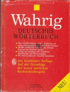 Wahrig / Dictionar de germana