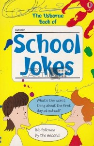 The Usborne book of School jokes / Cartea Usborne de glume cu scoala