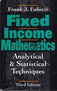 Fixed Income Mahematics / Matematica cu venit fix
