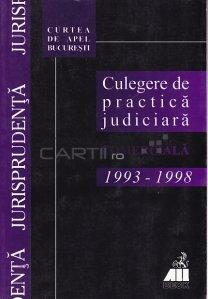 Culegere de practica judiciara comerciala