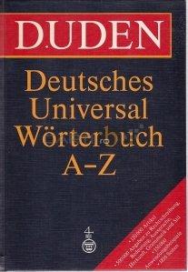 Deutsches Universalworterbuch / Dictionar universal german