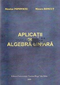 Aplicatii de algebra liniara