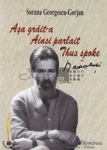 Asa grait-a/ Ainsi parlait/ Thus spoke Brancusi