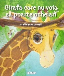 Girafa care nu voia sa poarte ochelari