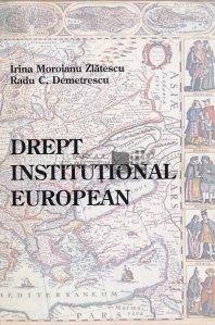 Drept Institutional European