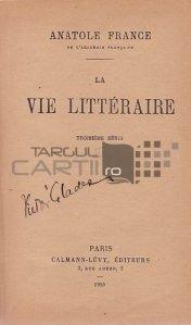 La vie litteraire / Viata literara