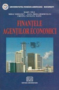 Finantele agentilor economici